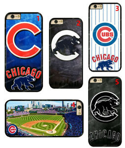 Chicago Cubs  Hard Phone Case Cover For iPhone / Touch / Samsung / LG