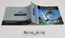 SEGA Game Gear Ecco The Dolphin Notice / Instruction Manual
