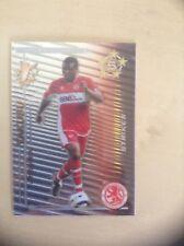 Aiyegbeni Yakubu Middlesbrough Shiny Shoot Out 2005-06 Card