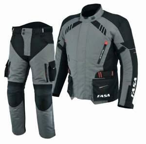 Men motorcycle textile Jacket and trouser textile suit