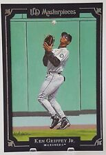 2007 UD MASTERPIECES KEN GRIFFEY JR 5X7 BOX TOPPER JUMBO FRAME RARE! MARINERS #2