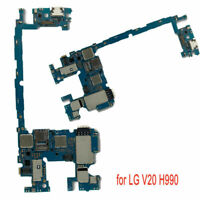 for LG V20 H990 Main Motherboard Replacement Single SIM Mobile Phone Logic Board