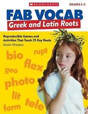 Fab Vocab: Fab Vocab: Greek and Latin Roots : Reproducible Games and...
