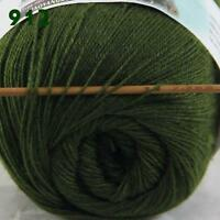 Sale New 1ballx50g LACE Soft Crochet Acrylic Wool Cashmere hand knitting Yarn 12