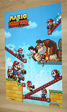 Mario vs. Donkey Kong / Lego Star Wars III The Clone Wars small Poster 42x28cm