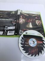Xbox 360 Video Game SAW Game And Case / Horror Rare Very Good Condition