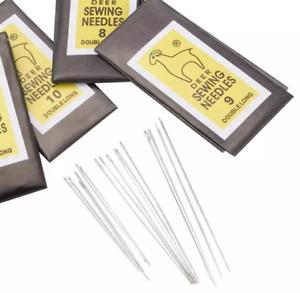 25pcs/bag Iron Beading Sewing Needles  Double Long Bracelets