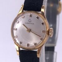 NOS CERTINA Cal. 13-21 FUNCIONANDO vintage hand manual lady reloj 17 mm 3WC