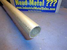 """1-1/4"""" OD x 36"""" x .083"""" Wall 6061 T6 Drawn Seamless Aluminum Round Tube"""