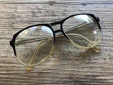 Vtg 60/70's Esquire 600 Mens Gray Fade Thick Plastic Eyeglasses Frames 56-16