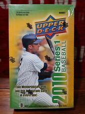 2010 Upper Deck Series 1 Baseball Factory Sealed Hobby Box *EXQUISITE PATCHES*