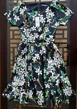 Dolce & Gabbana Floral-Print Flounce-Hem Dress,Original: $1995 + tax  S - 40/4