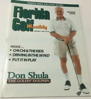Florida Golf Monthly Magazine Don Shula (THE GOLFIN' DOLPHIN) Jan.1998 F/S