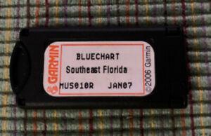 Garmin Bluechart Data card MUS010R Southeast,Florida