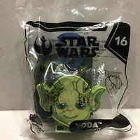 New Unopened Star Wars McDonalds Yoda Happy Meal Toy Hanger #16