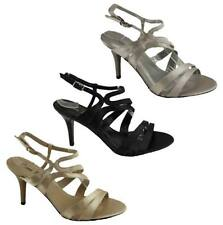 Donna Velenta Satin Formal Heels for Women