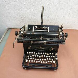 antike Schreibmaschine Mercedes Werke A.-G. Zella-Mehils  40/50er Jahre (L)