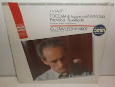 GL 71051 JS Bach Toccata & Fugue Gustav Leonhardt  New Sealed LP