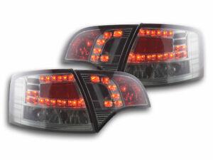 2 lights faros ARRIÈRE FEUX  4250540137643  Audi A4 Avant 8E  04-08 black