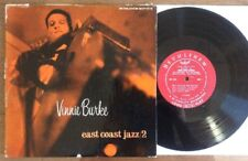"Vinnie Burke Quartet – East Coast Jazz/2 ~ 10"" vinyl DG 1955 Bethlehem BCP 1010"
