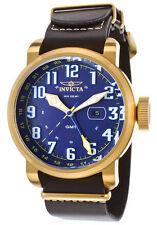 Vergoldete Armbanduhren mit 12-Stunden-Zifferblatt