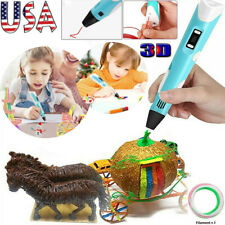 3D Printing Pen Drawing Doodle Crafting Modeling Filament Art Printer Kids Gift