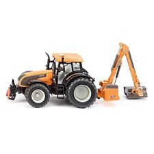 1:32 Scale Valtra Tractor - Siku Kuhn 3659 132 Mower T191 Hedge Cutter Toy