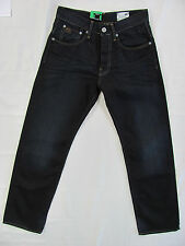 G-Star Raw Denim Jeans 3301 Loose Fit Black Button Fly -Men's Size 28 NWT