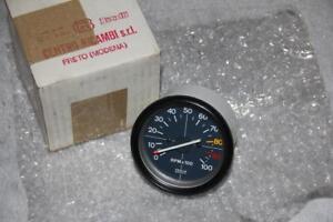 Moto Guzzi Benelli GU19767200 V35 V50 Tacho Rev Counter Veglia Tachometer NOS