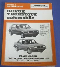 Revue technique automobile rta volkswagen golf & jetta depuis 1984