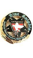 Blue Knight Law Enforcement Motorcycle Club Hudson Valley Region NY Lapel Pin