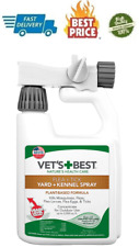New listing Flea, Tick & Mosquito Yard and Kennel Spray for Outdoor Dog Vet's Best 32 fl. oz