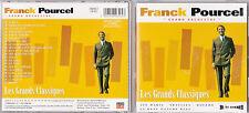 CD 20T FRANCK POURCEL LES GRANDS CLASSIQUES BEST OF 1996 EXCLUSIVITÉ CLUB DIAL