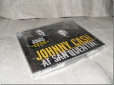 JOHNNY CASH - LIVE SAN QUENTIN cd + dvd UK RELEASE NEW FACTORY SEALED
