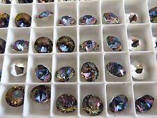 6 Crystal Volcano Swarovski Crystal Chaton Stone 1088 39ss 8mm