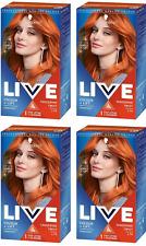 4x Schwarzkopf LIVE Colour + Lift L74 Tangerine Twist