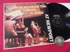 LP The Oscar Peterson Trio With Roy Eldridge, Sonny Stitt AT NEWPORT Japan | M-