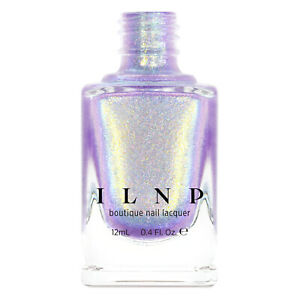 ILNP Downtown - Iridescent Purple Holographic Jelly Nail Polish