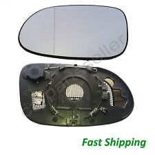 MB Mercedes CLK C209 Mirror Glass with Holder Aspherical LEFT HEATED 2002-2010