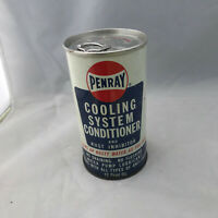 Antique Gas Station Cooling System Conditioner Metal Can: Penray Vintage 12 Oz