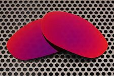 New Volt Polarized Ruby Replacement Lenses for Oakley Monster Dog