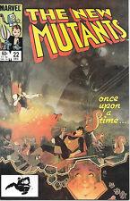 Marvel Comics The New Mutants Comic Book #22 1984  NEAR MINT   NEW UNREAD