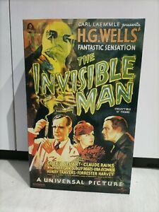 Sideshow 1/6 scale 12 inch The Invisible Man Universal Monsters Carl Laemmle