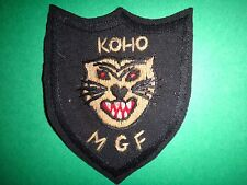 ARVN Hand Sewn Patch Mobile Guerrilla Force KOHO MGF From Vietnam War Era