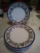 DANSK Sageberry Lunch Fine Porcelain Plates
