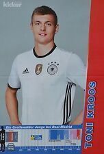 TONI KROOS - A3 Poster (ca. 42 x 28 cm) - Fußball EM 2016 Clippings Sammlung NEU