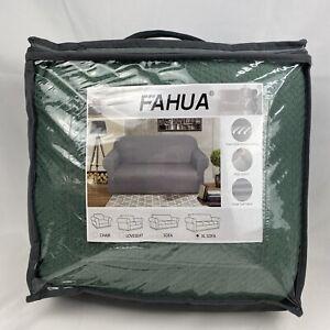 XL Sofa Cover Fahua 1-Piece Super Soft Fabric High Stretch Universal Fit w/ Foam