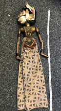Vintage Thai Indonesian Burmese Wood Mariinette Puppet