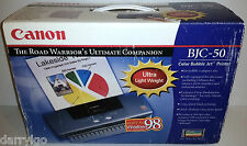 (NEW) Canon BJC-50 PORTABLE Color Bubble Jet Standard Inkjet Compact Printer