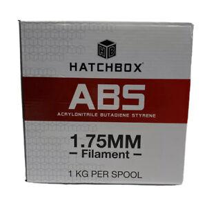 HATCHBOX 3D Printer Filament ABS 1.75mm 1kg/2.2lbs RED Dimensional Accuracy